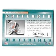 DAN MARINO 2000 Donruss Preferred QBC Materials Shoe patch /125 Dolphins PM12