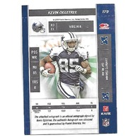 KEVIN OGLETREE 2009 Playoff Contenders Rookie Ticket auto autograph jets PR 493