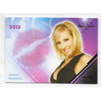 Jessica Rockwell 2013 Benchwarmer Kiss Card #8