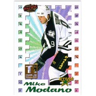 MIKE MODANO 1998-99 Pacific Titanium Ice Insert Card #8 38/99 Dallas Stars