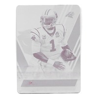 CAM NEWTON 2014 Panini Absolute Magenta Printing Plate 1/1 Carolina Panthers