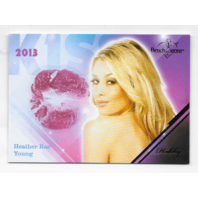 Heather Rae Young 2013 Benchwarmer Kiss Card #35