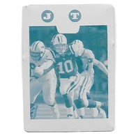 CHAD PENNINGTON 2008 Topps Cyan Printing Plate 1/1 New York Jets