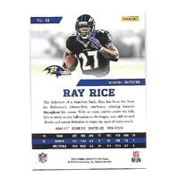RAY RICE 2013 Panini Absolute Spectrum Platinum 2/10 Baltimore Ravens