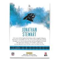 JONATHAN STEWART 2016 Panini Origins Green 5/5 Carolina Panthers #17 emerald