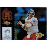 JOHN ELWAY Upper Deck Pro Bowl Insert Card 1994 Denver Broncos Holofoil Hologram