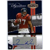DOMANICK DAVIS 2004 Playoff Honors Prime Signatures Autograph Card 102/300 Auto