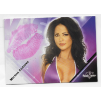 Martina Andrews 2008 Benchwarmer Kiss Card /12