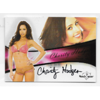 Charity Hodges 2011 Benchwarmer Authentic Autograph #A-40 auto