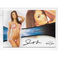 Janet Layug 2012 Benchwarmer Authentic Autograph #20 auto