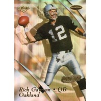 RICH GANNON 1999 Collector's Edge Masters Hologold Parallel Card 25/25