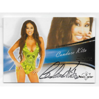 Candace Kita 2013 Benchwarmer Authentic Autograph #4 auto