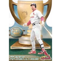 MARK MCGWIRE 1999 Pacific Crown Collection Pacific Cup #9 Die-Cut Insert Card