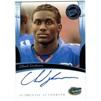 CHAD JACKSON 2006 Press Pass Blue Autograph Rookie On Card Auto PR 50 BV$30