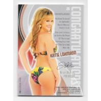Katie Lohmann 2013 Benchwarmer Authentic Swatch #20