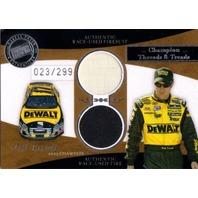 MATT KENSETH 2006 Legends Champion Threads Treads Silver Race Firesuit Tire /299