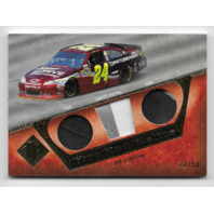 Jeff Gordon NASCAR 2013 Press Pass Authentics Hot Rod Relics /50 Tire sheet metal