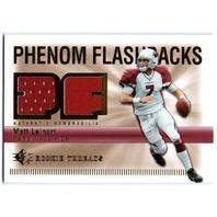 MATT LEINART 2007 Upper Deck UD SP Rookie Threads Phenom Flashbacks Jersey Card