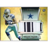 TERRANCE WILLIAMS 2013 Bowman Sterling Gold Refractor Prime Patch 1/50