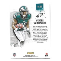 WENDELL SMALLWOOD 2016 Panini Kickoff Hyperplaid 1/1 Philadelphia Eagles