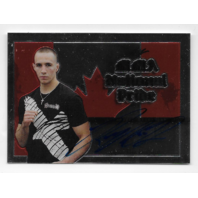RORY MCDONALD 2011 UFC Leaf MMA National Pride auto #NP-RM-1 Canada flag autograph