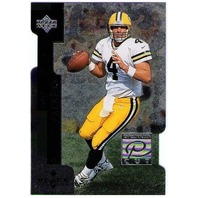 BRETT FAVRE 1998 Upper Deck Black Diamond Premium Cut Insert Card #PC24