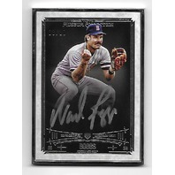 WADE BOGGS 2015 Topps Museum Collection Silver Frame Autograph /10 Red Sox