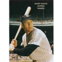 MICKEY MANTLE Sports Heroes of the 90's Prototype Card The Commerce Comet /1000
