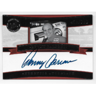 Benny Parsons NASCAR 2005 Press Pass Legends auto /700  Black white autograph