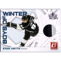 RYAN SMYTH 2010-11 Donruss Boys of Winter Threads Prime Jersey Patch Card 33/100
