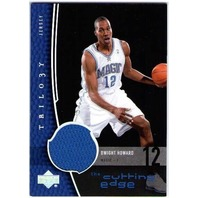 DWIGHT HOWARD 2004-05 Upper Deck Trilogy The Cutting Edge Game Jersey Card