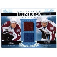 PAUL STASTNY WOJTEK WOLSKI 2009-10 09/10 Dual Game Jersey Card Artifacts /100