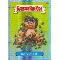 ITCHY RICHIE 2013 Garbage Pail Kids Chrome Series One Prism Refractor Card 11a