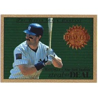 DON MATTINGLY 1995 Upper Deck Steal of a Deal Card #SD13 New York Yankees