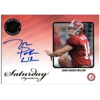 JOHN PARKER WILSON 2009 Press Pass Legends Saturday Rookie Autograph Card BV$20