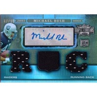 MICHAEL BUSH 2007 Topps Triple Threads Auto Rookie Jersey Sepia Card 47/89