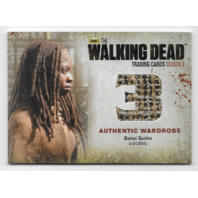 Danai Gurira Michonne 2014 Cryptozoic Walking Dead season 3 Wardrobe Card M47