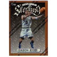 JASON KIDD 1996-97 96/97 Topps Sterling Finest Refractor Card #39