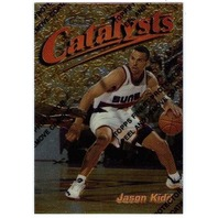 JASON KIDD 1997-98 Topps Finest Catalysts Chrome Insert Card #171