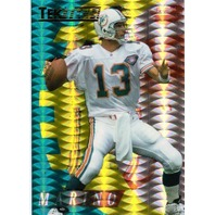DAN MARINO 1995 Collector's Edge Excalibur TekTech #7 Tek Tech Prism Insert Card