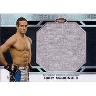RORY MacDONALD 2013 Topps UFC Finest 5/8 Threads Jumbo Relics Octafractor Card