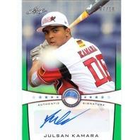 JULSAN KAMARA 2013 Leaf Power Showcase Autographs Green 7/10 Rookie Auto Card