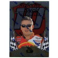 RICKY RUDD 1999 Premium Badge of Honor Reflector Shield Card NASCAR BV$20