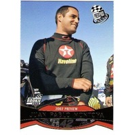 JUAN PABLO MONTOYA Press Pass Gold 2007 Rookie Card Parallel