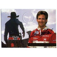 JOHN ANDRETTI 1994 High Gear Rookie Shoot-Out Autograph Auto On Card /1000