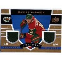 MARIAN GABORIK 2008-09 Upper Deck Trilogy Honorary Swatches 08/09 Minnesota Wild