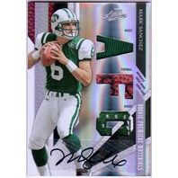MARK SANCHEZ 2009 Absolute Memorabilia Rookie Materials Auto AFC 1/25 Card