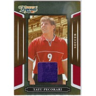TATU PECORARI 2008 Sports Legends Soccer Shirt Card Dallas Sidekicks 171/500
