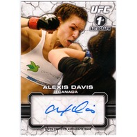 ALEXIS DAVIS 2013 Topps UFC Bloodlines Auto Signed Card #FA-AD Canada
