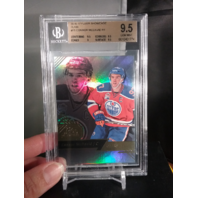 Connor McDavid 2016-17 Fleer Showcase Flair Beckett BGS 9.5 GEM MINT Oilers